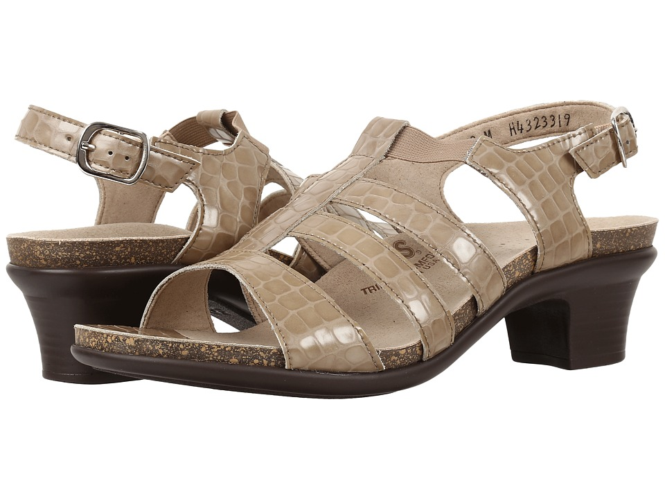 SAS Allegro (Taupe Croc) Women's Shoes