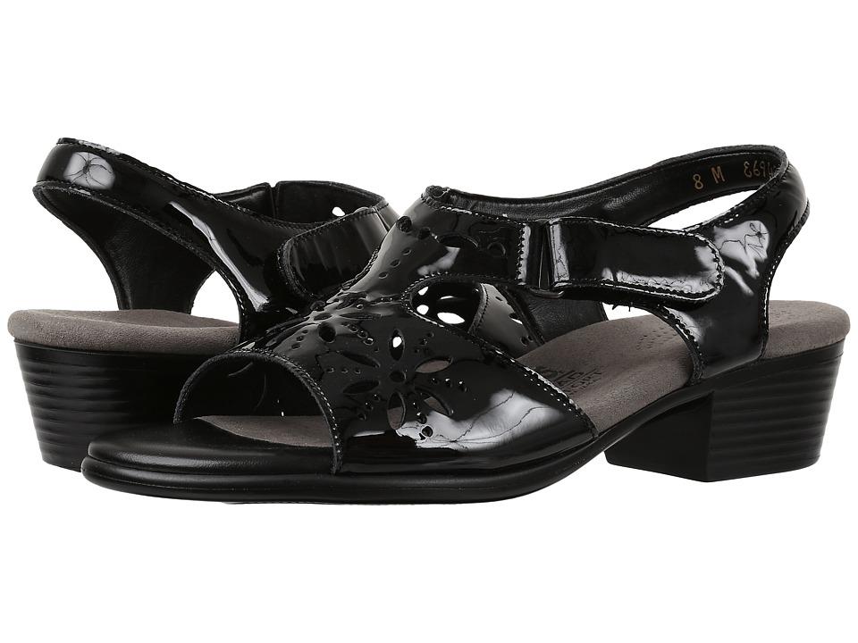 SAS - Sunburst (Black Patent) Women's Shoes