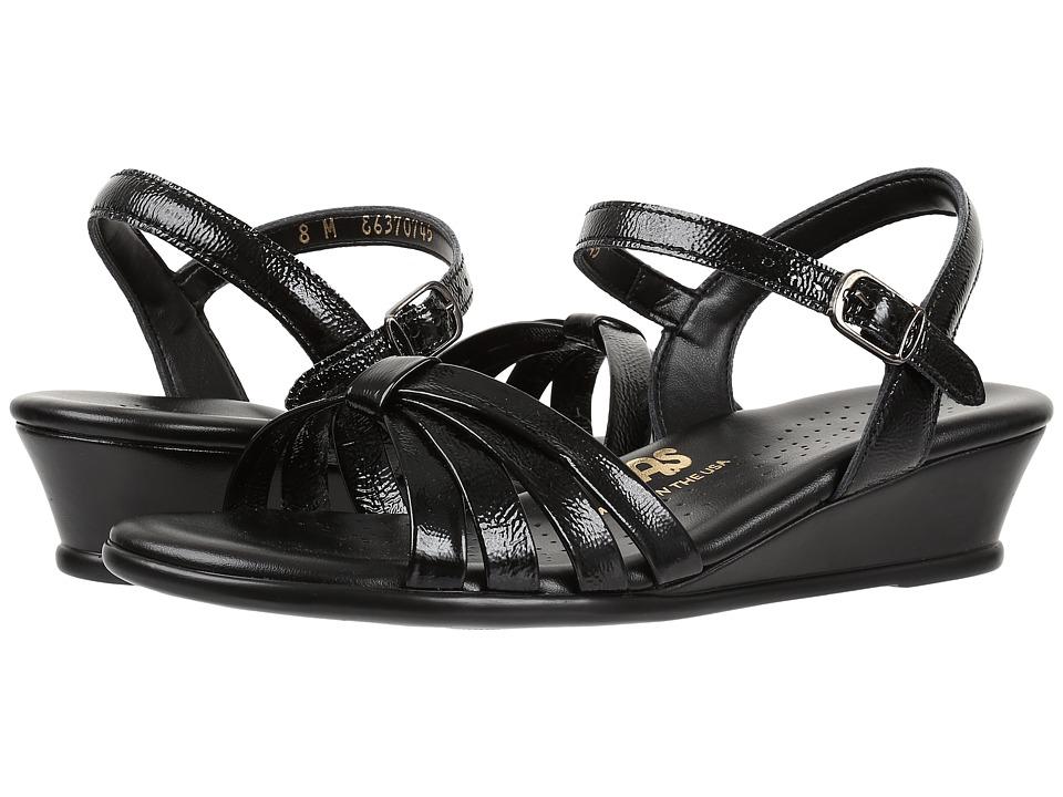SAS - Strippy (Black Patent) Women's Shoes