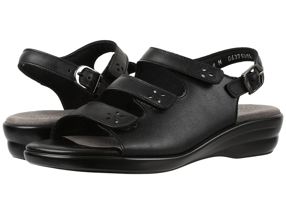 SAS Quatro (Black) Women's Shoes