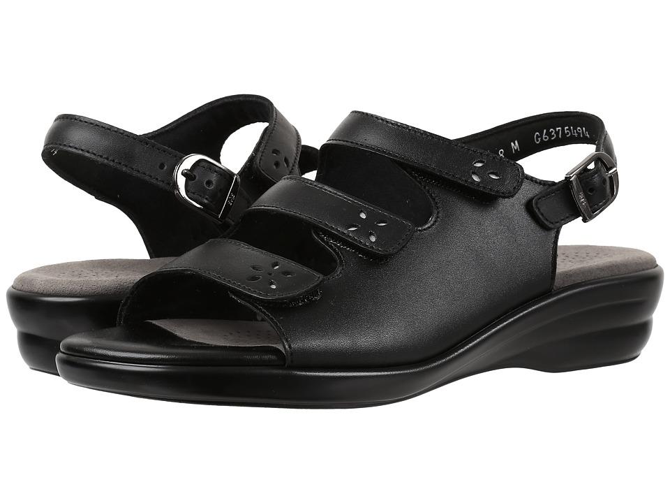 SAS - Quatro (Black) Women's Shoes