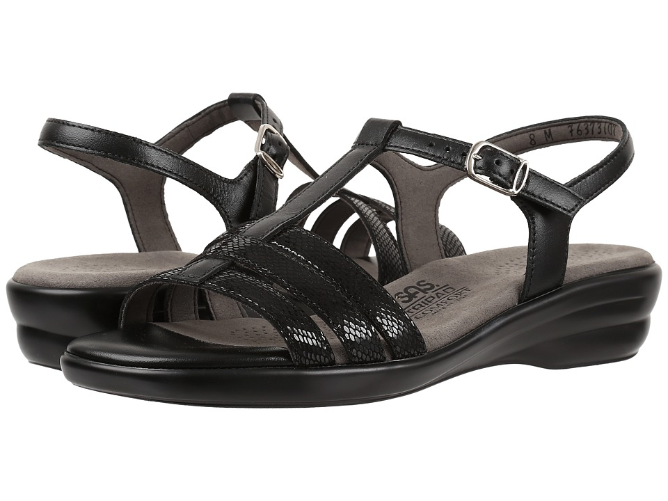 SAS Capri (Black Snake) Women