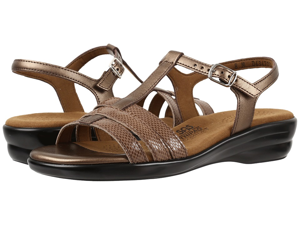SAS Capri (Bronze Snake) Women's Shoes