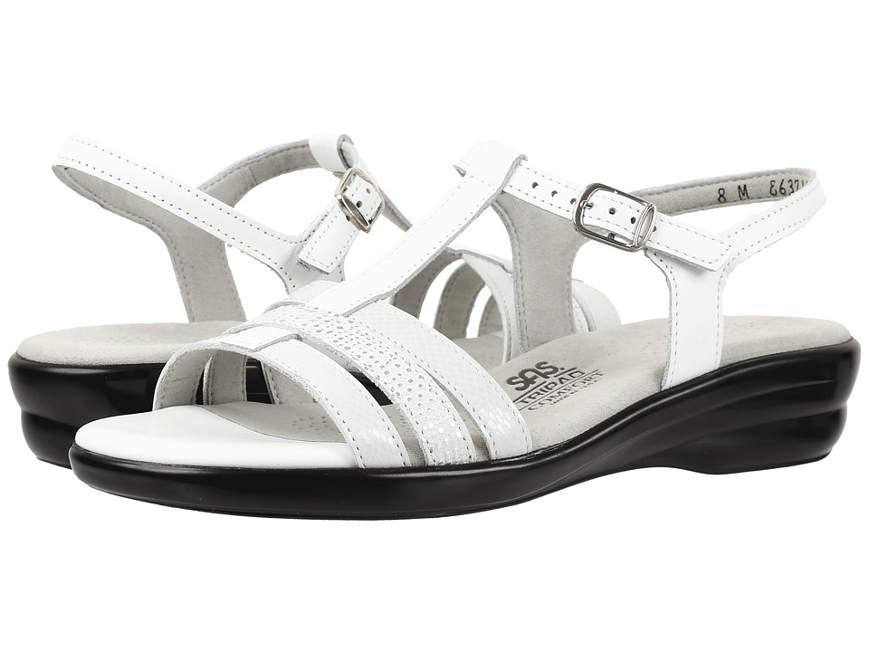 SAS Capri (White Multi) Women