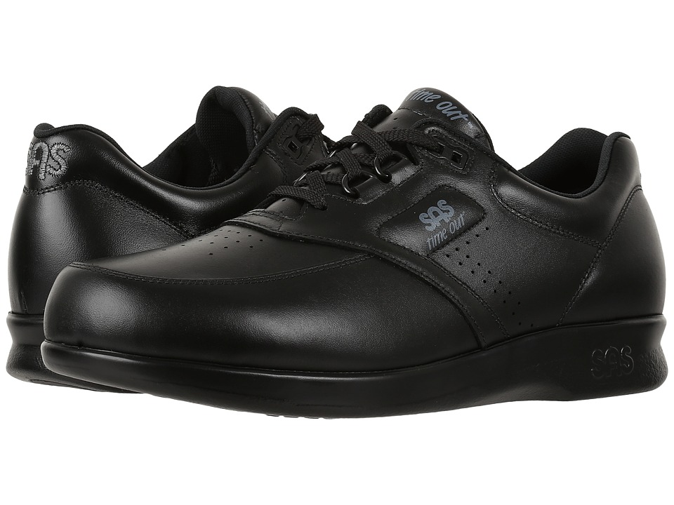SAS - Time Out (Black) Men's Shoes