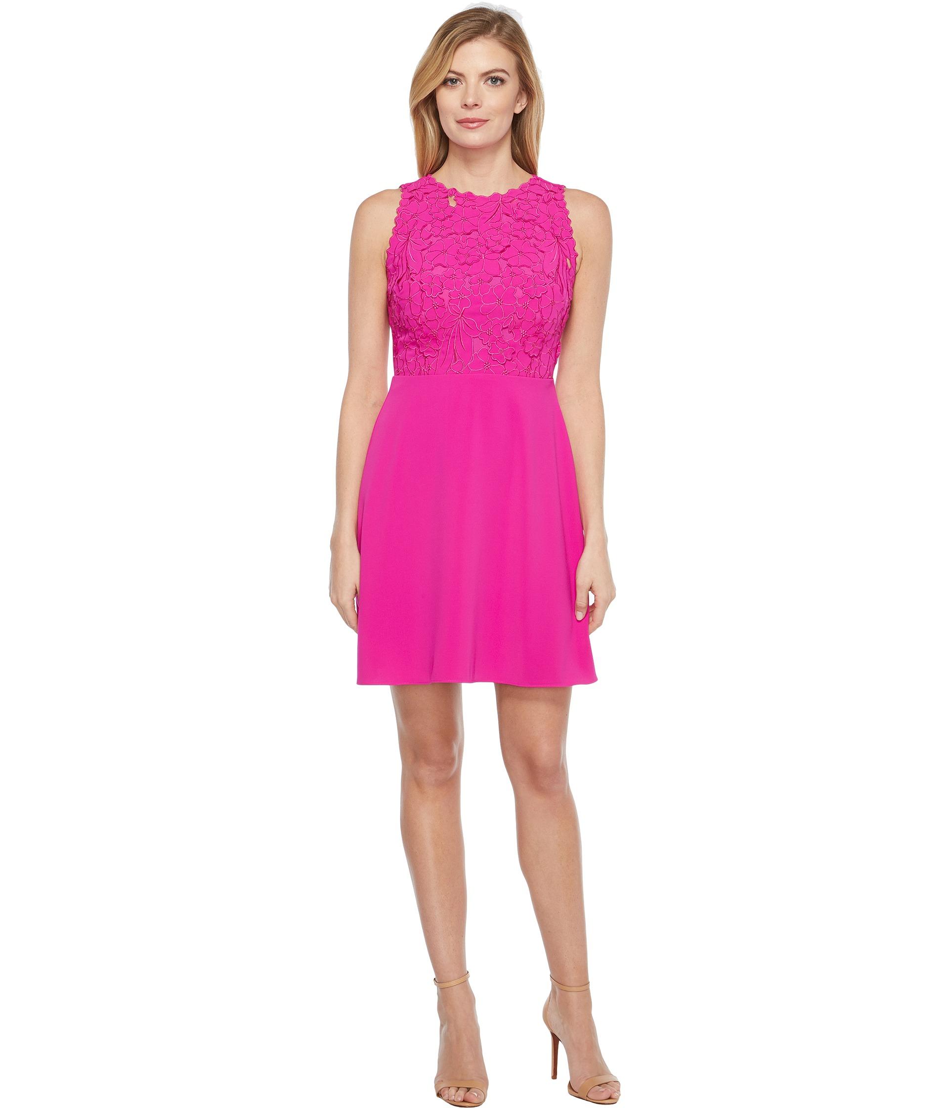 hot pink sheath dress ejn dress