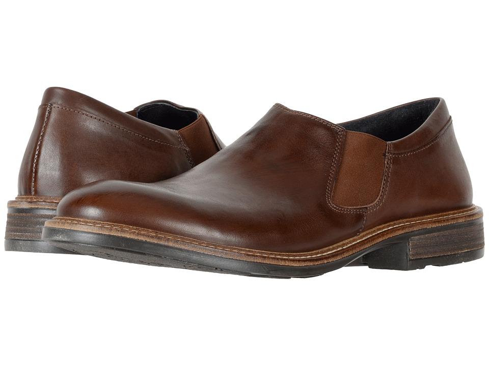 Naot Footwear Director (Toffee Brown Leather) Men