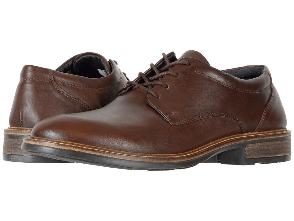 Naot Footwear Wisdom (Toffee Brown Leather) Men