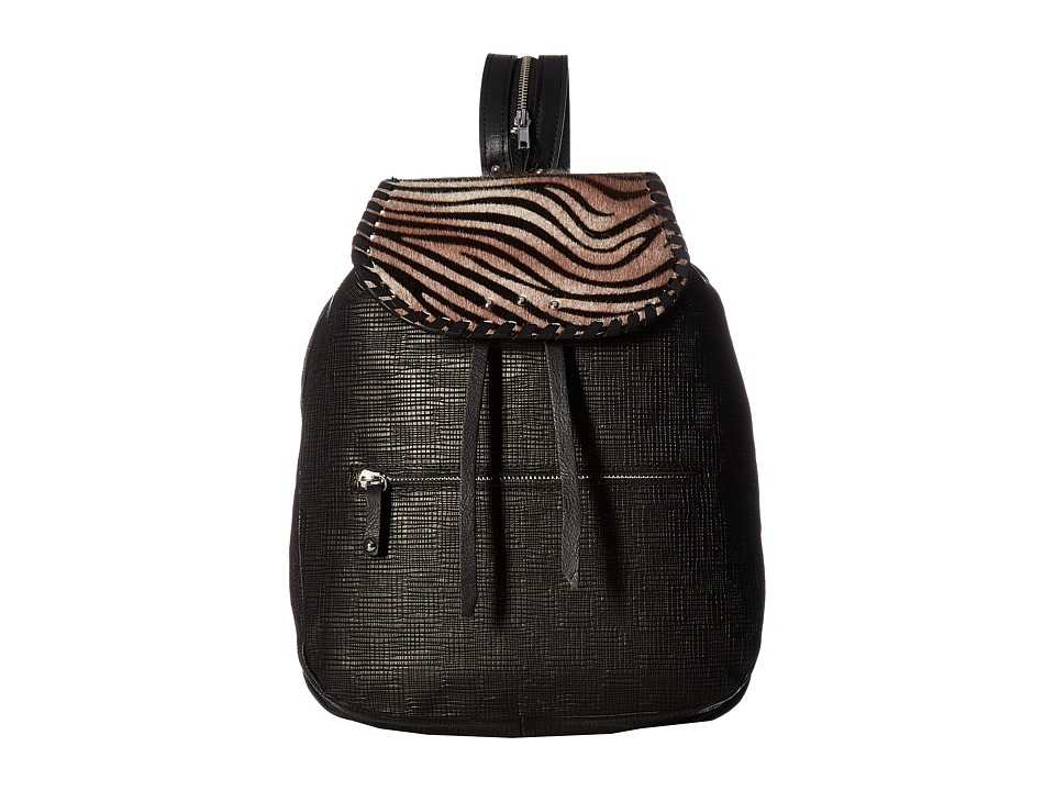 SAS Jill (Zebra/Black Grid) Handbags