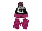 Nike Kids - Attitude Knit Beanie & Gloves Set (Little Kids/Big Kids)