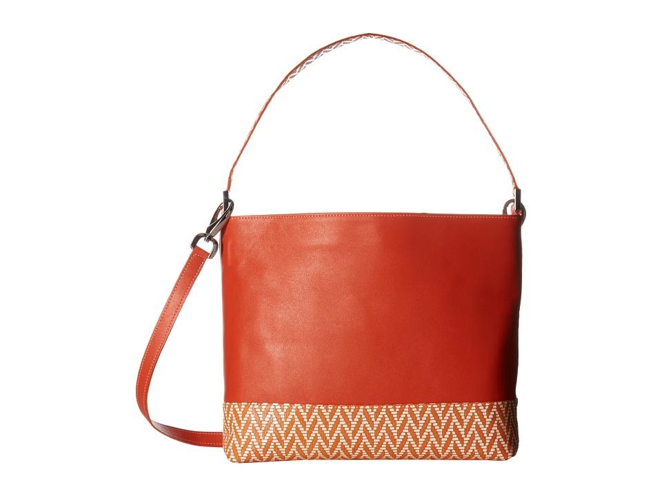 SAS Jamie (Orange/Chevron) Handbags
