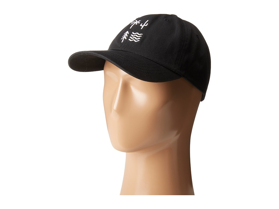 Image of Akomplice - All Dad Hat (Black) Caps