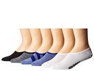 New Balance - N200 Ultra Low No Show Socks 6-Pair Pack