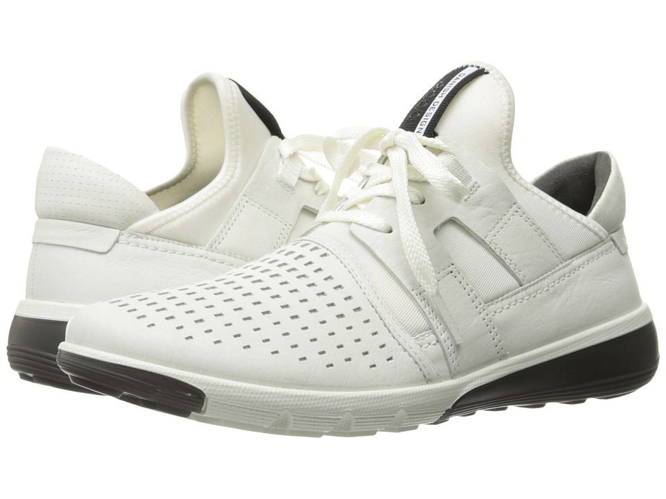 ECCO Intrinsic 2 Perforated (White/White) Men