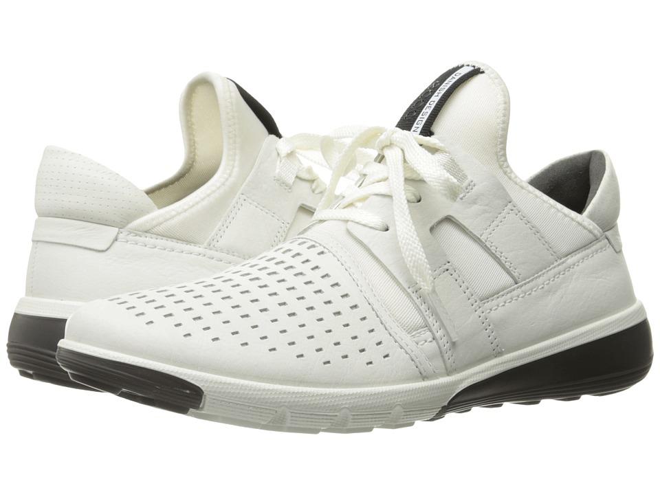 ECCO Intrinsic 2 Perforated (White/White) Men