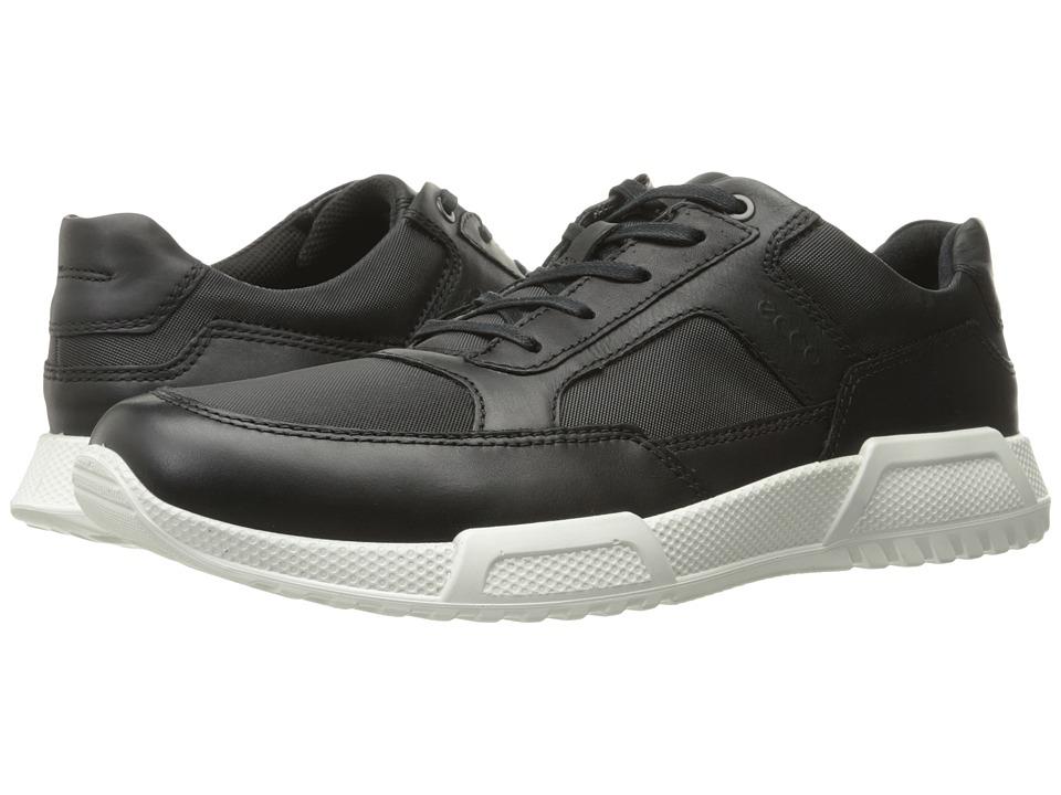 ECCO Luca Modern Sneaker (Black/Black) Men
