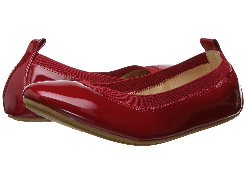 Yosi Samra Kids Miss Samara Patent Ballet Flat (Toddler/Little Kid/Big Kid) (Red Patent) Girls Shoes