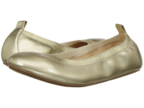 Yosi Samra Kids Miss Samara Ballet Flat (Toddler/Little Kid/Big Kid) - Gold Metallic
