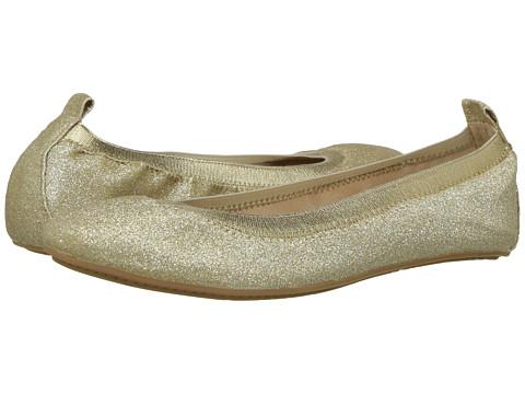 Yosi Samra Kids Miss Samara Ballet Flat (Toddler/Little Kid/Big Kid) - Gold Glitter