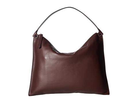 ECCO Sculptured Shoulder Bag - Ruby Wine
