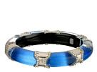 Alexis Bittar Pave Edged Segmented Hinge Bracelet