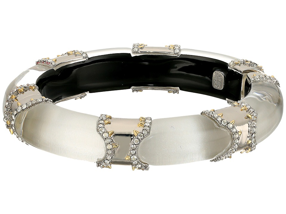 Alexis Bittar - Pave Edged Segmented Hinge Bracelet