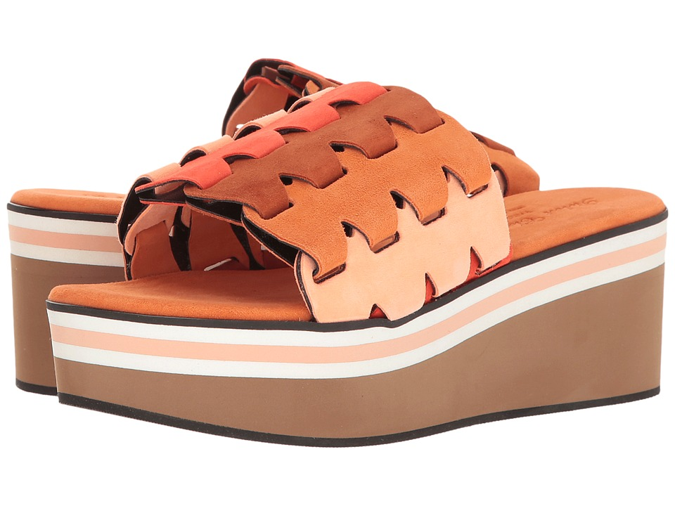 Robert Clergerie Pamela (Peach Suede) Women