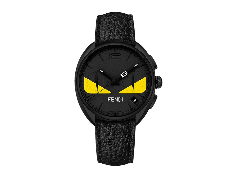 Fendi Timepieces - Momento Fendi Bugs 40mm (Black/Black) Watches