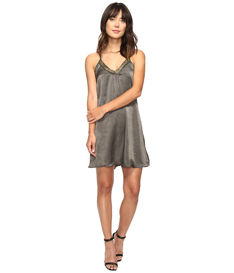 Brigitte Bailey Marrie Spaghetti Strap Dress with Lace Detail