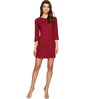 Brigitte Bailey - Alyxa Shift Dress with Scallop Trim