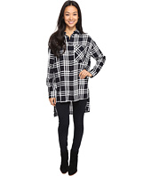 Brigitte Bailey - Jessi Long Sleeve Plaid Top