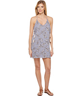 Brigitte Bailey - Kalyn Spaghetti Strap Printed Dress with Tassels