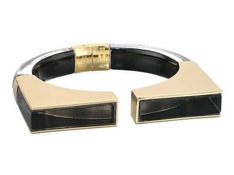 Alexis Bittar Inlaid Geometric Brake Hinge Bracelet