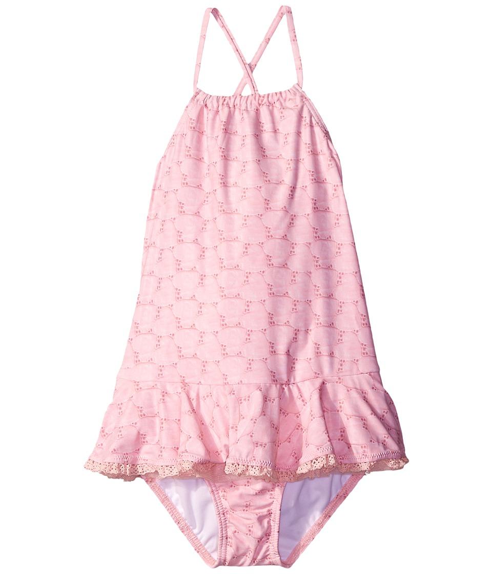 Seafolly Kids Swan Lake Tank Top (Infant/Toddler/Little Kids) (Ballet Pink) Girl