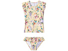Seafolly Kids Swan Lake Rashie Set (Infant/Toddler/Little Kids)