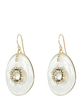 Alexis Bittar - Crystal and Stone Studded Liquid Silk Wire Earrings