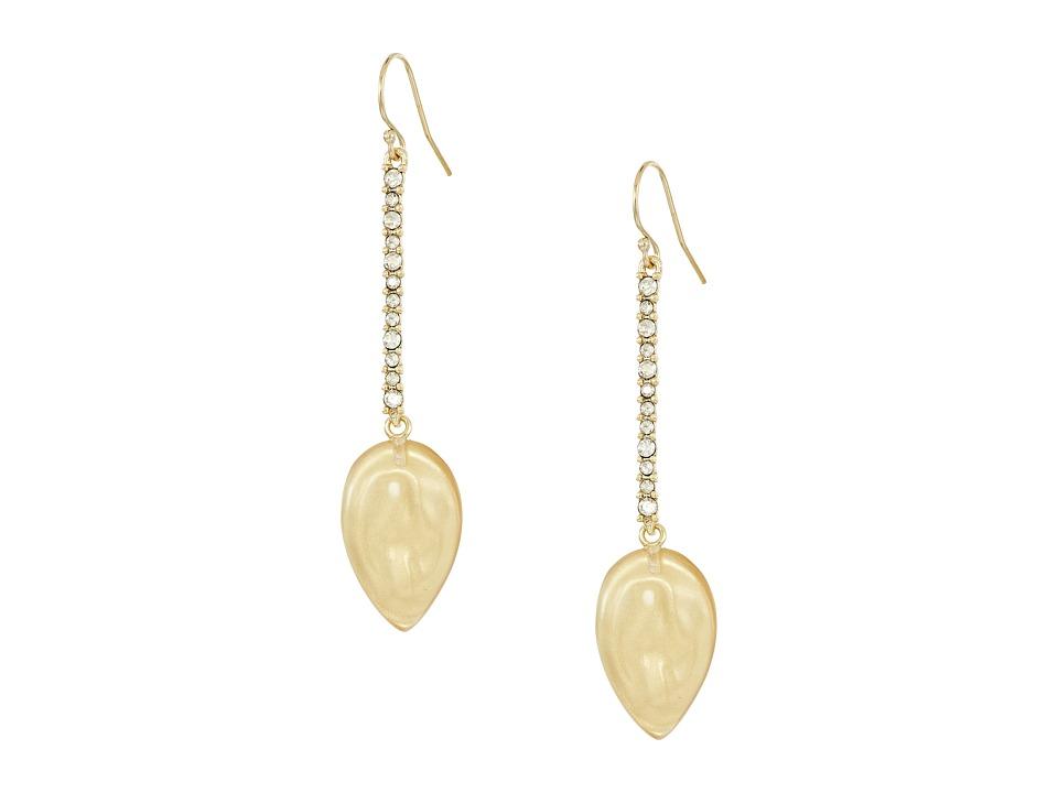 Alexis Bittar - Crystal Encrusted Liquid Silk Drop Earrings