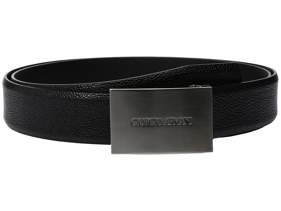 Giorgio Armani - Plaque Buckle Belt