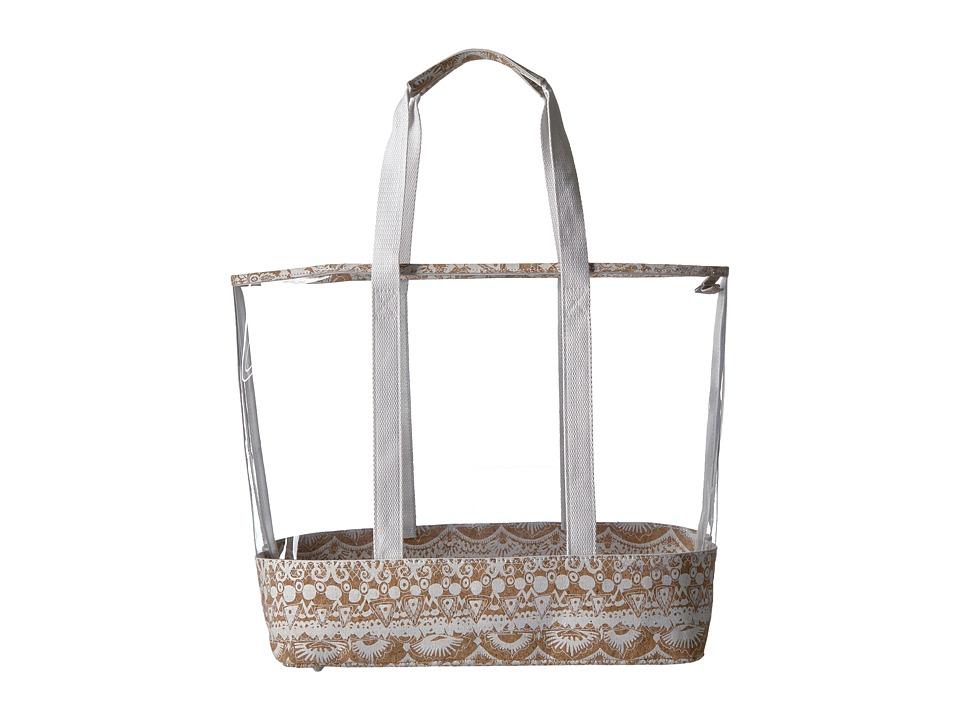 Sakroots - Seni Summer Tote (Cork One World) Tote Handbags