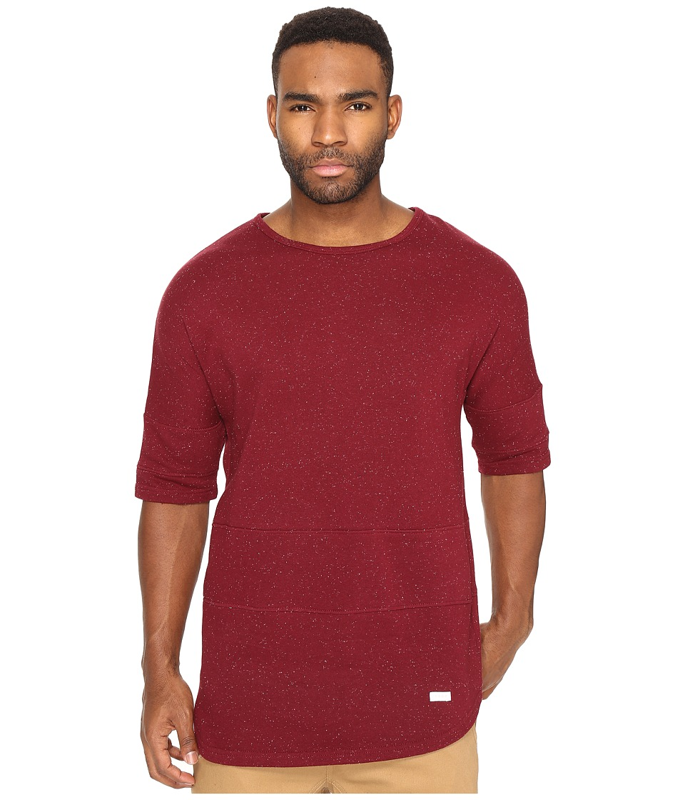 Image of Akomplice - Epple Elongated Sleeve (Maroon) Men's T Shirt