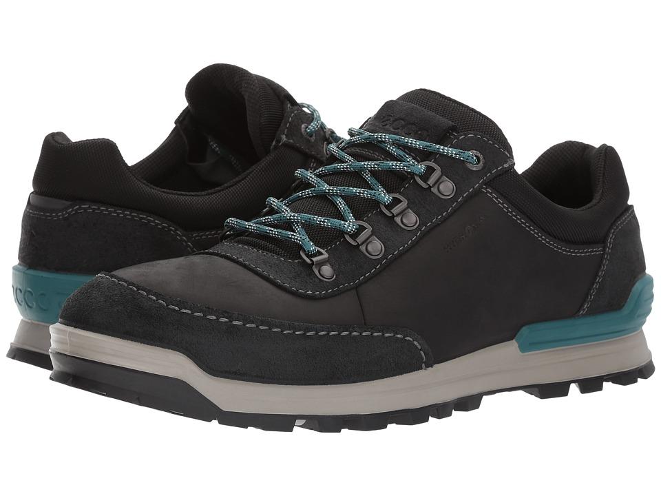 ECCO Sport Oregon Retro Sneaker (Black/Black) Men