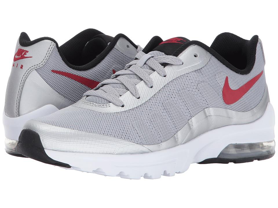 Nike Air Max Invigor (Wolf Grey/Varsity Red/Black/White) Men