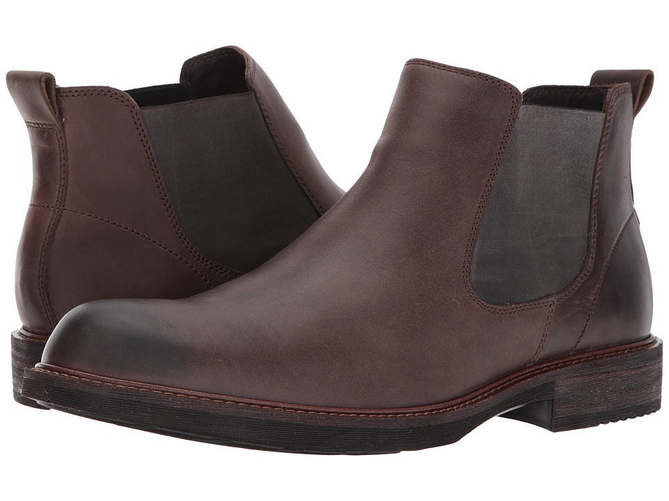 ECCO Kenton Chelsea Boot (Coffee) Men
