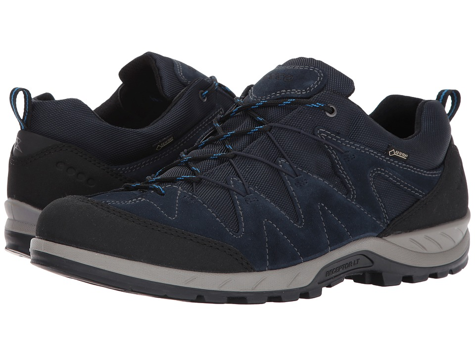 ECCO Sport Yura Low Gore-Tex (Black/Marine) Men