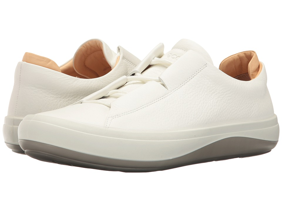 ECCO Kinhin (White/Veg Tan) Men