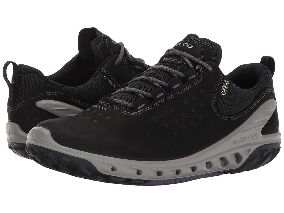 ECCO Sport Biom Venture GTX Tie (Black/Black) Women's Running Shoes