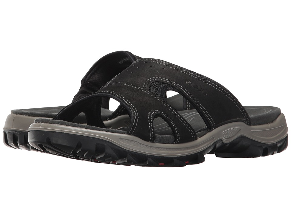 ECCO Sport Offroad Lite Slide (Black/Black) Women's Shoes