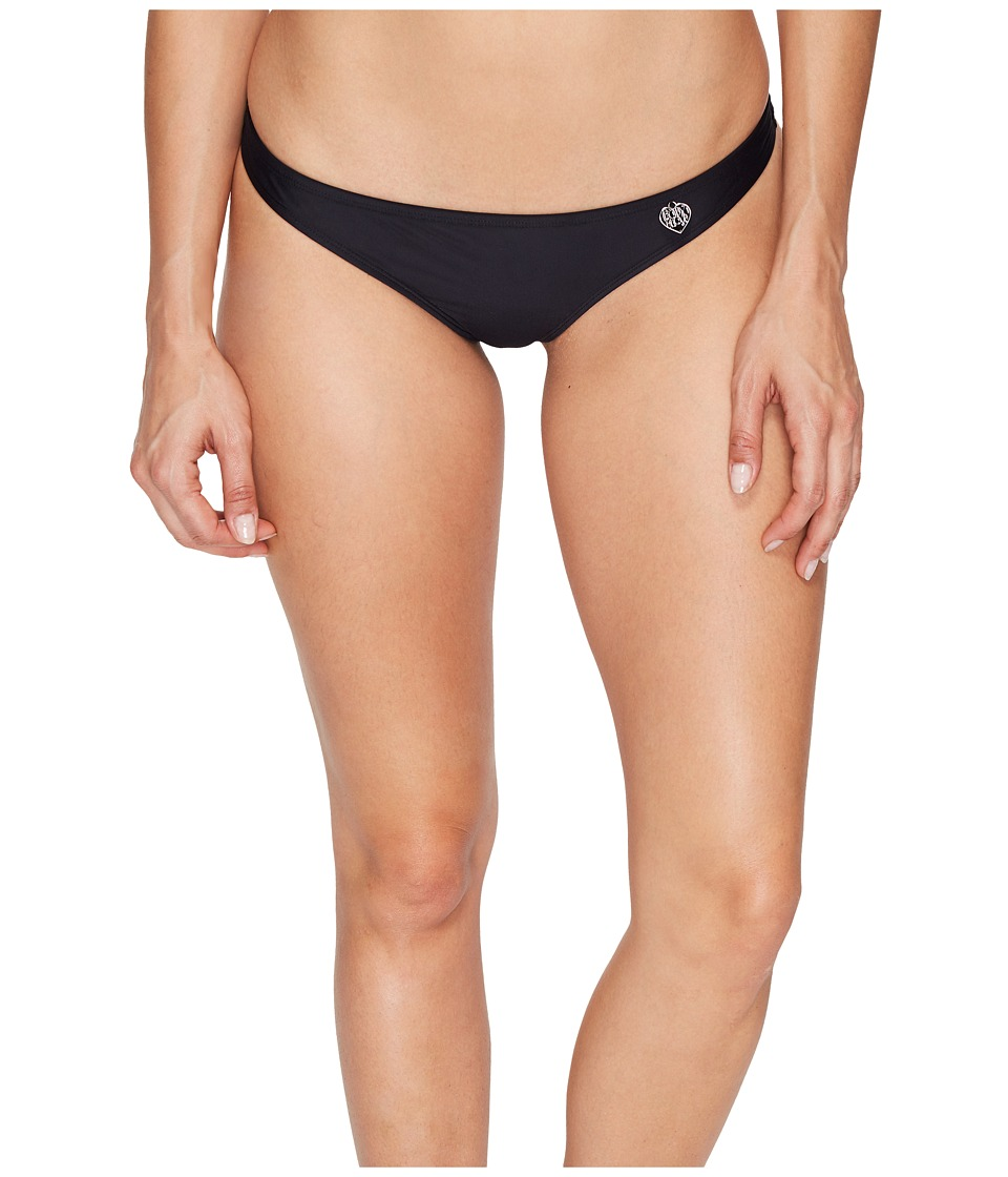 Body Glove Smoothies Thong Bottoms (Black)