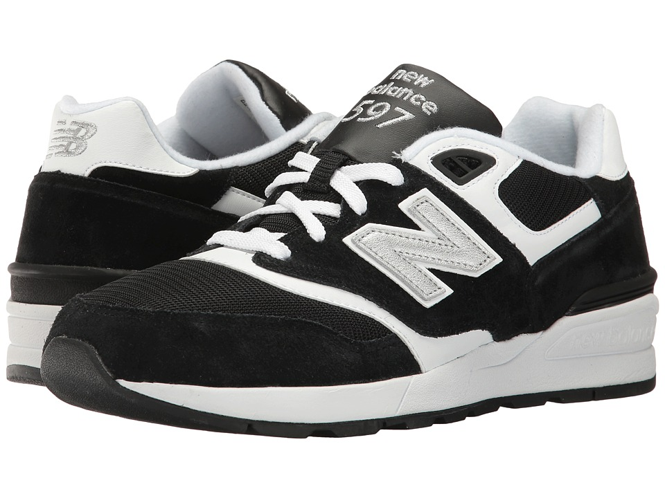 New Balance Classics ML597 (Black/White) Men