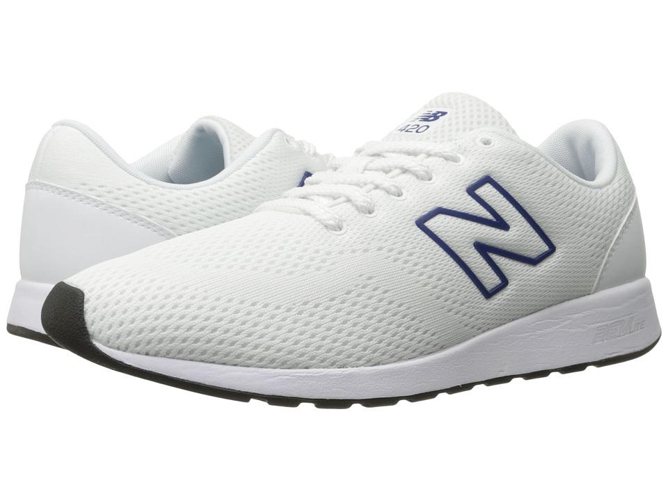 New Balance Classics MRL420 (White/Blue) Men